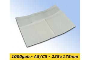 Pavadzīmju plēves kabatiņas A5/C5 - 235x175mm