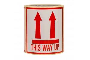 This Way Up uzlīmes uzlīmes 10x10cm / 100gab.