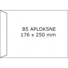 Papīra Aploksne B5 HK 176x250mm balta
