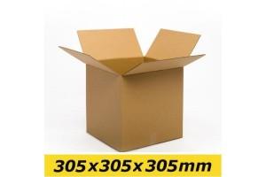 Kartona kaste 305x305x305 mm (L 1/2)