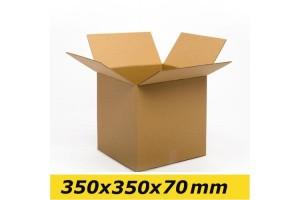 Kartona kaste 350x350x70 mm (S 1/2)
