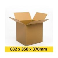 Kartona kaste 632x350x370 mm (Omniva - L )