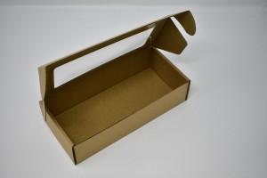 Kartona kaste ar logu 210x98x49 mm