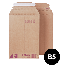 Brūna Kartona Aploksne B5 288x200x52mm