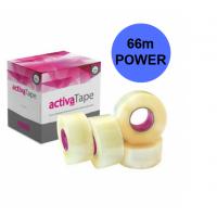 Caurspīdīga līmlente 48MM X 66M - ACTIVATAPE POWER