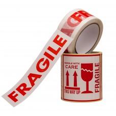 KOMPLEKTS: 100 Fragile uzlīmes un Fragile līmlente