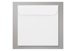 Papīra Aploksne CD/DVD NK 124X127mm balta