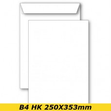 Papīra Aploksne B4 HK 250X353mm balta