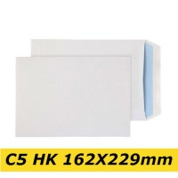 Papīra Aploksne C5 HK 162X229mm balta