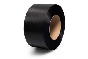 Spriegošanas lente PP 15 x 0.8mm x  1500m, melna