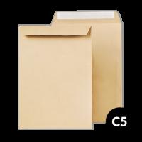 Papīra Aploksne C5 HK 162X229mm brūna