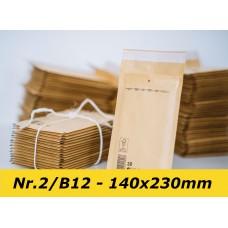 Polsterēta aploksnes 2B - 140X225mm