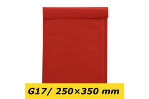 Sarkana polsterēta aploksnes G/17