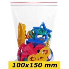 Zip Lock maisiņi 100 x 150 mm - 1000gab.