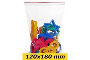 Zip Lock maisiņi 120 x 180 mm - 1000gab.