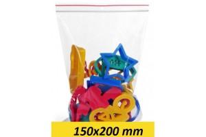 Zip Lock maisiņi 150 x 200 mm - 1000gab.
