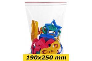 Zip Lock maisiņi 190 x 250 mm - 1000gab.