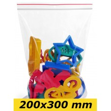 Zip Lock maisiņi 200 x 300 mm - 1000gab.