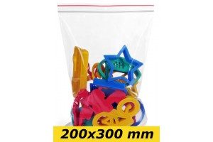 Zip Lock maisiņi 200 x 300 mm - 1000gab.