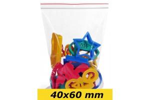 Zip Lock maisiņi 40 x 60 mm - 1000gab.