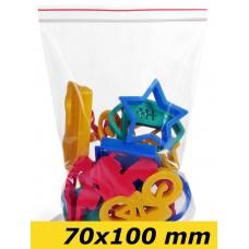 Zip Lock maisiņi 70 x 100 mm - 1000gab.