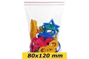 Zip Lock maisiņi 80 x 120 mm - 1000gab.