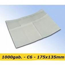 Pavadzīmju plēves kabatiņas C6 - 175x135mm