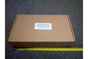 Kartona kaste 210x120x50 mm