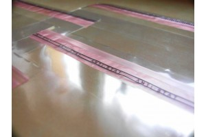 Caurspīdīgi maisiņi 20 x 30 cm - 500gab.