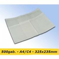 Pavadzīmju plēves kabatiņas A4/C4 - 325x235