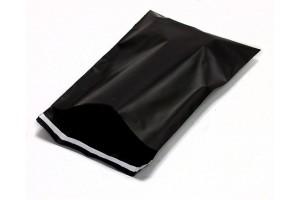 Melnas plēves aploksnes 240×325mm M izmērs 100gab.
